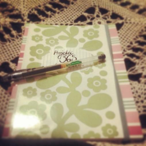 My project notebook. instagram.com/ainotuulia